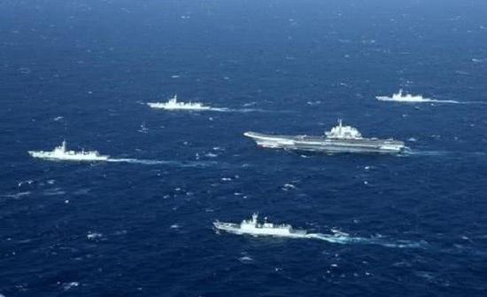 遼寧艦編隊已經正式執行前沿海域部署任務