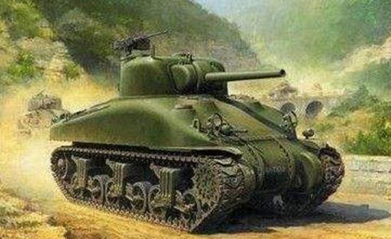 谢尔曼坦克
