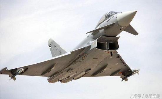 号称最强四代半的台风战斗机难掩欧洲在五代机时代的尴尬