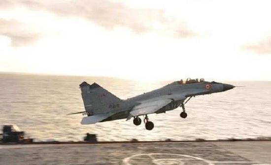 米格-29K舰载战斗机一直磕磕绊绊