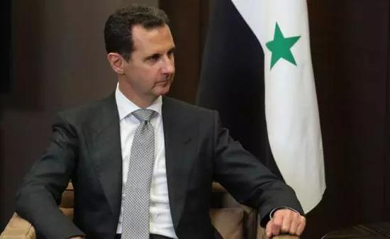 △叙利亚总统阿萨德