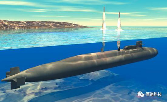 SSGN水下发射战斧