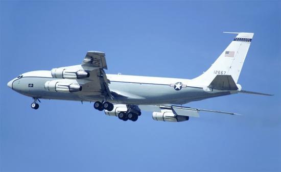 美国军机三天内两次抵近台湾附近空域