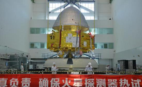 美媒:中国很晚才加入太空竞赛 但能探索月球和火星