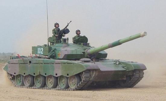 中国坦克成主要目标 美方用99坦克标识作打击对象(图)
