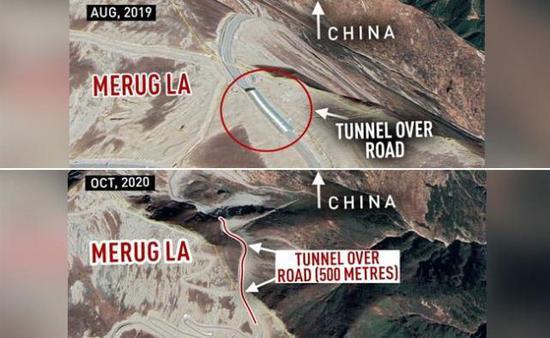 印媒:中国在洞朗修建新隧道 确保冬季调兵不受限