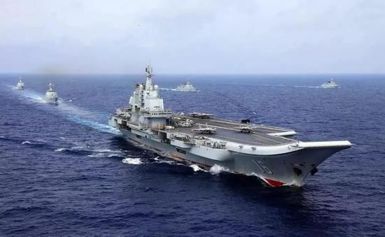 辽宁舰入列中国海军6周年 这些历史瞬间令人难忘