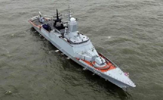 新浪军事中国三体护卫舰在俄亮相 战力全面超过美军濒海舰