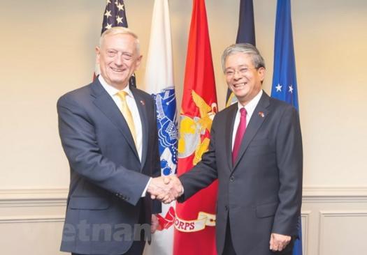 越南驻美国大使换人 临走跟美防长这样谈南海