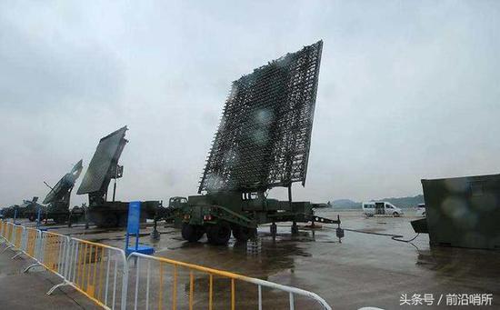 中国军用雷达
