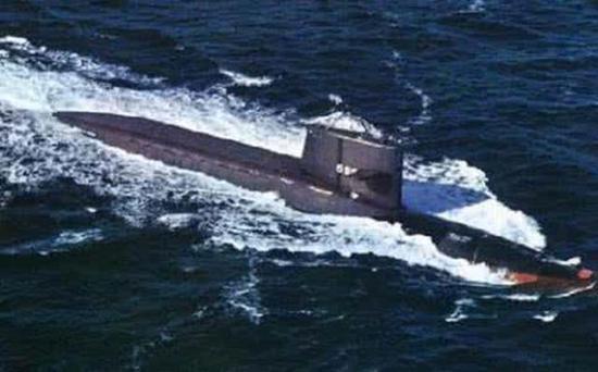 当时的美军核潜艇