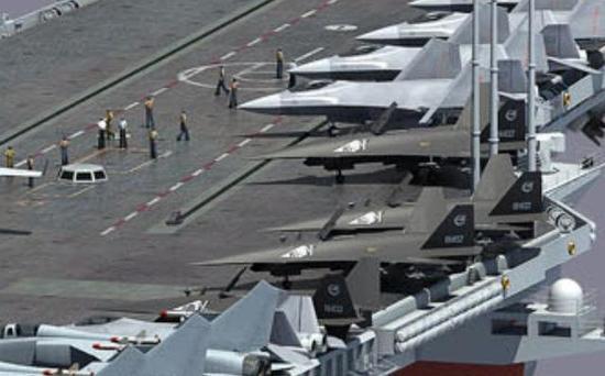 暗剑一定会搭配新型舰载机登上航母