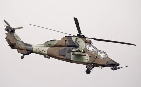 直-10性能与虎式直升机相近