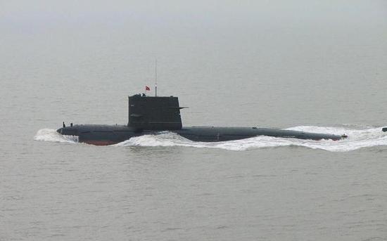 """▲中国海军""""宋""""级柴电潜艇"""