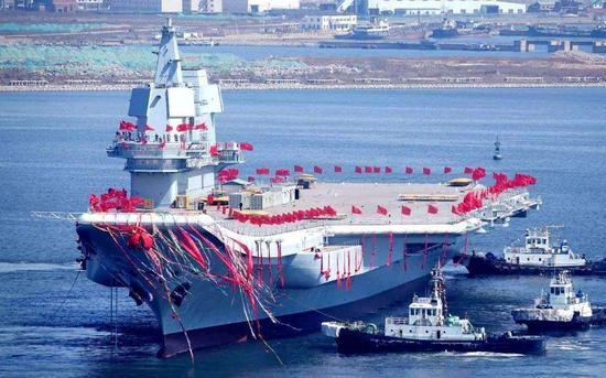 美媒称中国发展核航母可抗衡美福特级 或搭载激光炮红袖女装加盟