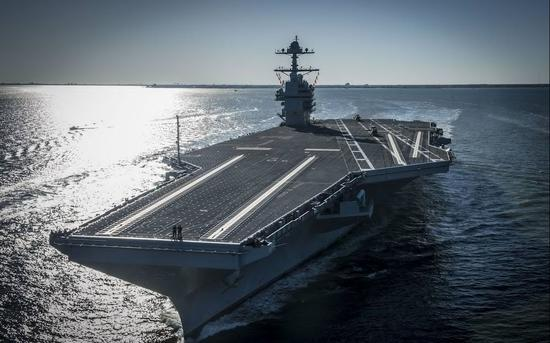<b>美福特级航母建造停工 因未解决升降机现技术问题</b>