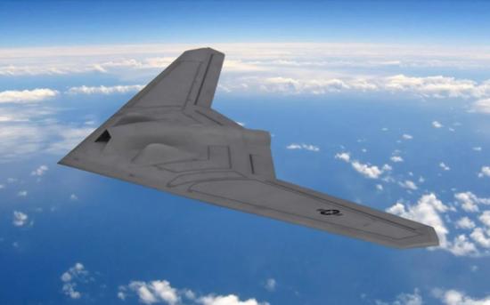 媒体对洛克希德RQ-180无人机推测的效果图