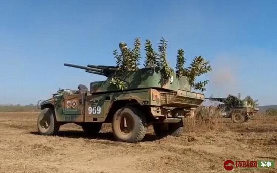老挝与俄首次联合军演 一款中国武器意外现身(图)