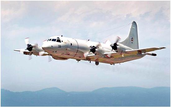 美军P-3C再次抵近台湾周边 怪异无线电呼号引联想