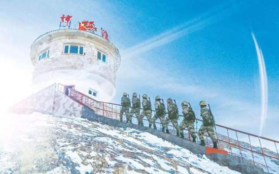 中国在喀喇昆仑山口部署相控阵雷达 阵列指向印度