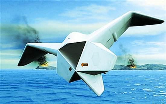 俄媒:中国将打造海空两栖无人机 可监视攻击敌潜艇