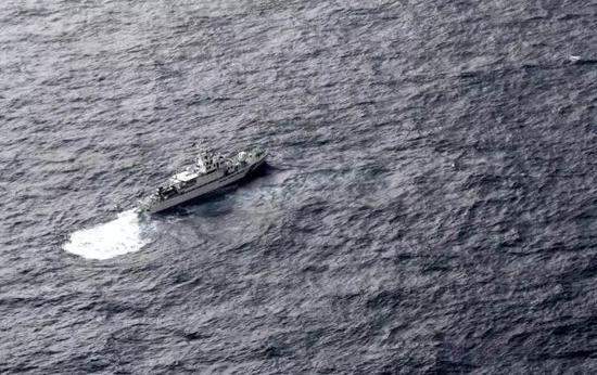 參與搜救的日本海上保安廳船隻