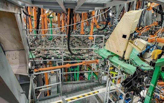 图为BAE系统公司的压力测试平台。