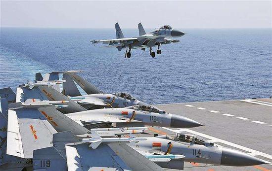 美稱中國002航母將采用電磁彈射 2030年擁有四艘航母