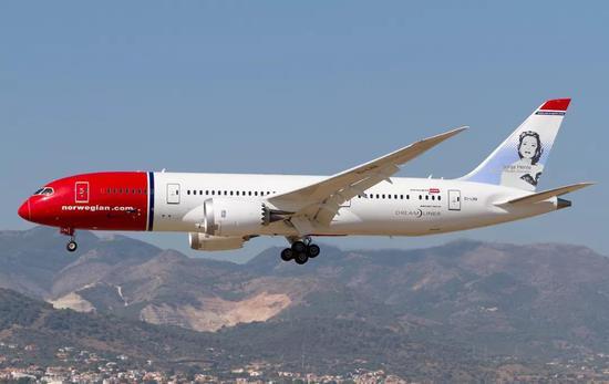 资料图:挪威航空飞机