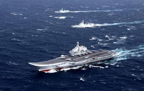 辽宁舰官宣台海训练当日 空军歼10歼16抵近台湾西南
