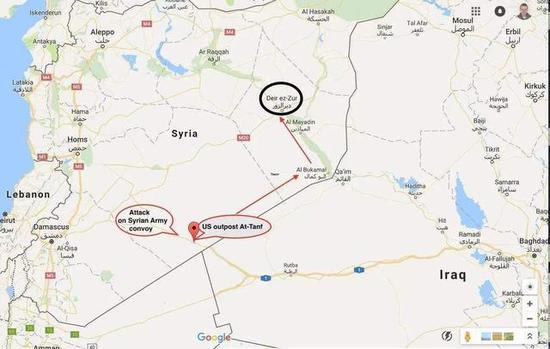 美军在叙一基地或被伊朗占领 华盛顿担心失去军事据点