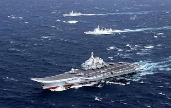 海軍航母前沿海域部署已經常態化