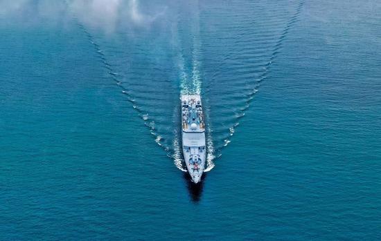 俄军首艘采用国产发动机的22350型护卫舰将下水