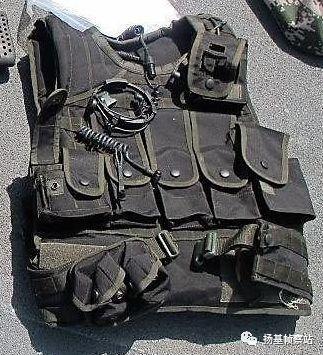 QTS-11数字化单兵作战系统的护甲部分