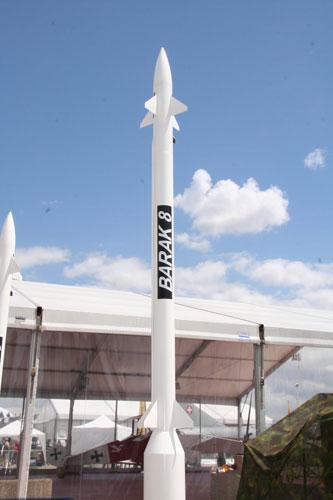 以印合作研制的巴拉克-8导弹