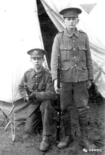 一战中的英国娃娃兵