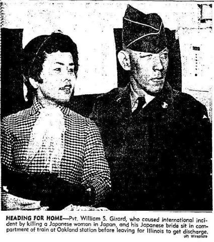 美士兵曾诱杀日本捡弹壳妇女 日本政府仅判他三年半
