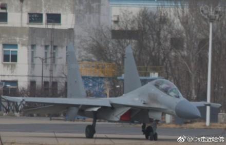 配备低可视度机徽的歼-16 图片来源:鼎盛军事