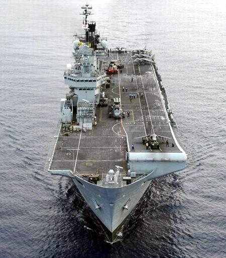 英航母服役十几天就漏水返修 英媒怒斥还不如中国制造