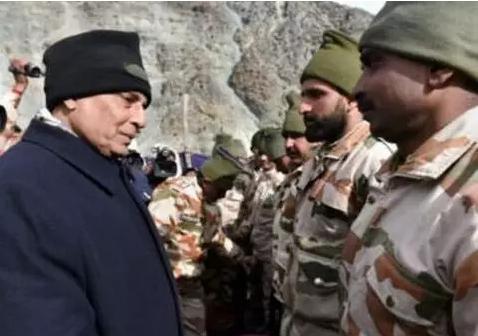 印高官为何新年视察中印边境 洞朗对峙对