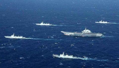 055舰将是这样的编队里的当仁不让主角