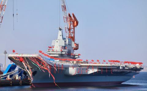 ▲新下水的001A为中国独立设计建造