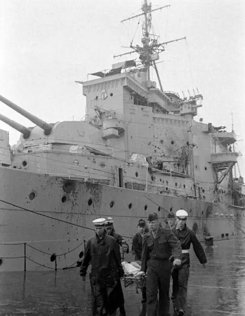 解放战争时中国在长江上曾狠狠炮击英舰致其逃离
