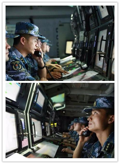 辽宁舰的CIC-战情指挥中心