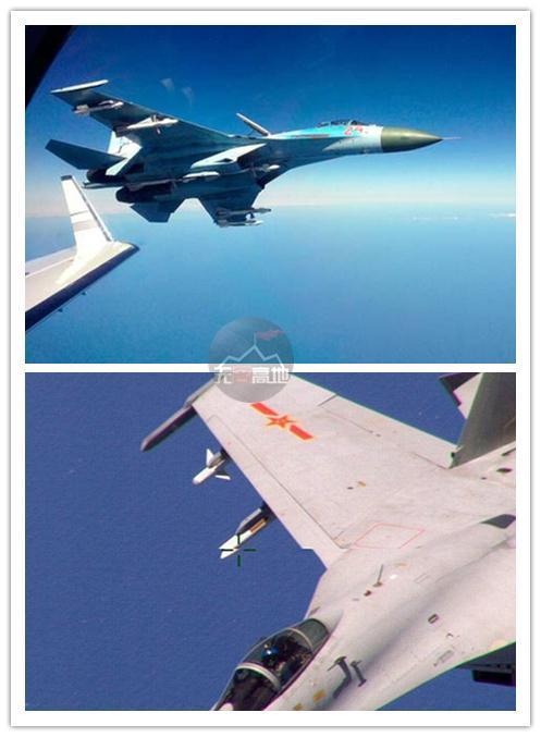 都是拦截闯入者:欧美空军只会亮导弹中俄敢去直接撞