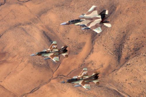 ▲F16行动常常需要F15提高掩护
