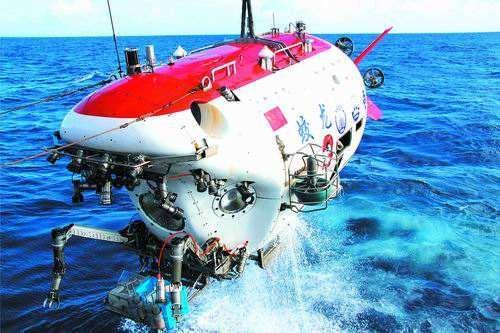 中国深潜器技术有新突破 俄改变态度邀中国共同研