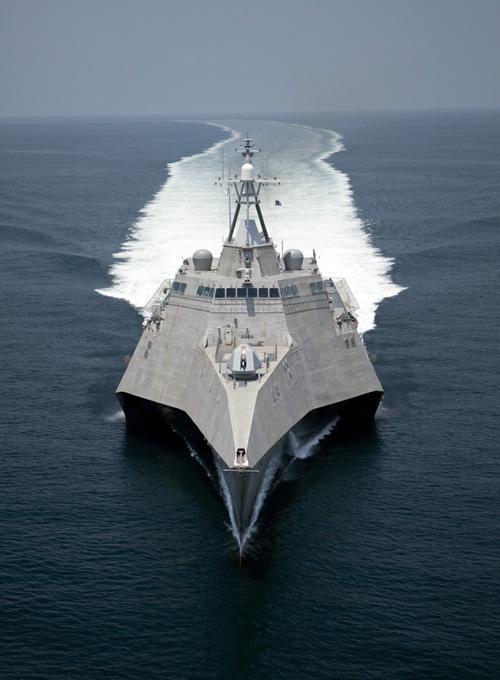 美濒海舰火力不足仅速度胜过中国054A 最终被放弃