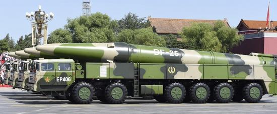 美军高超音速武器性能细节曝光 速度比中国WU14快1倍