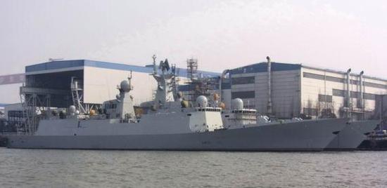 """""""下饺子""""的中国海军"""
